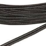 PEGA Y7001 corde à soutache noir 3 / 0,9 mm