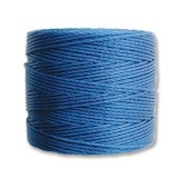 nici S-LON Tex 210 0.5 mm blue - nić do beadingu