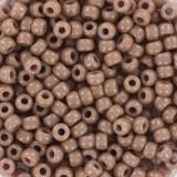 Perles Miyuki rocailles 8/0 duracoat opaque beige #8-4455