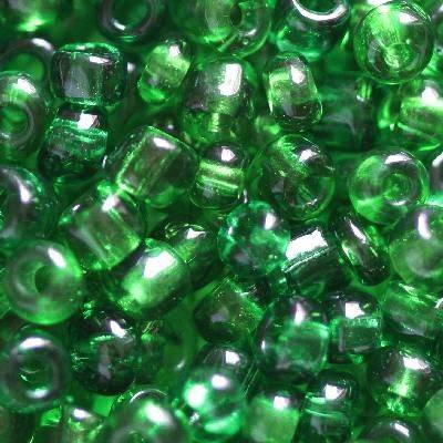 perline rocaille verde 3.5 mm