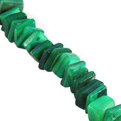 masa perłowa kamyczki zielone