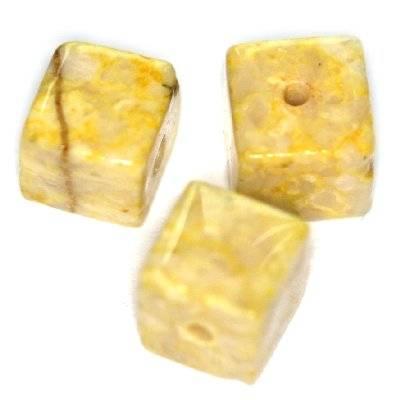 cubes marbre sable 6 x 6 mm