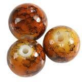 Perline rivestite marrone 10 mm