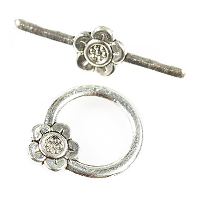 bracelet clasp flowers jewellery findings