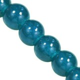 Candy Jade Beads azure 6 mm