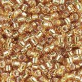 Miyuki Delica silver lined marigold 1.6 x 1.3 mm DB-1201
