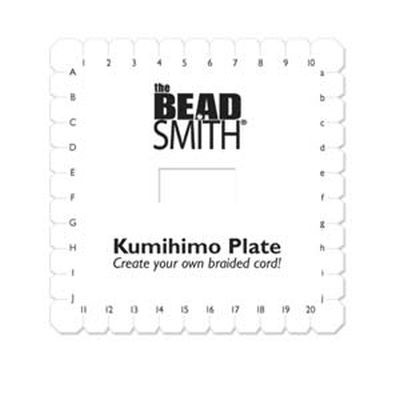 Kumihimo plate 6 in square