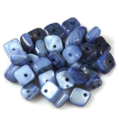 masa perłowa kamyczki niebieskie