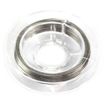 linka stalowa kolor srebrny 0.45 mm