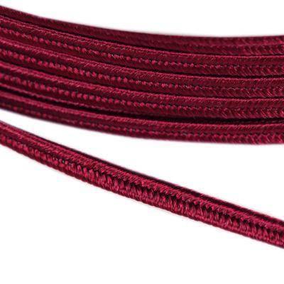 PEGA Y7512 Soutache-Schnur dunkelrot 3 / 0,9 mm