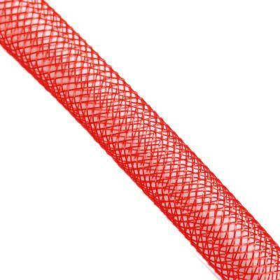 tube de maille rouge 4 mm