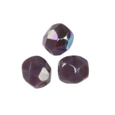 round beads candy amethyst ab 3 mm