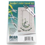 Beadsmith beader's mini travel kit 10 x 17 cm