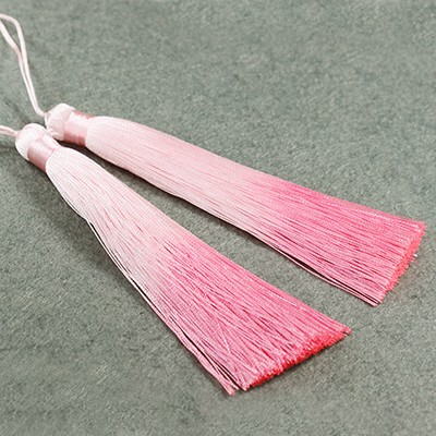 gland pendentifs ombre pink 13 cm