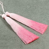 tassels ombre pink 13 cm