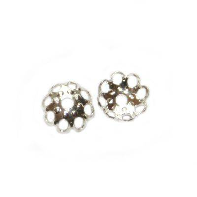 chapas decorativas flores mini 5.5 mm