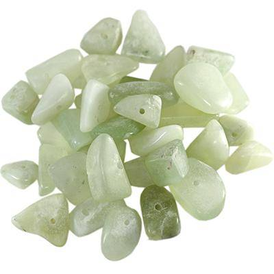 nephrite big chips new jade/ semi-precious stone