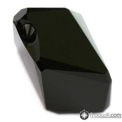 Swarovski cubist pendants jet 22 mm