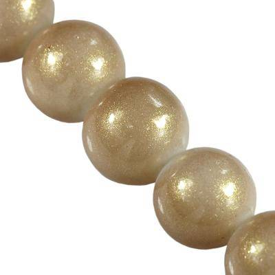 koraliki Gold Powder Classic cashmere 12 mm