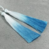 tassels ombre blue 13 cm