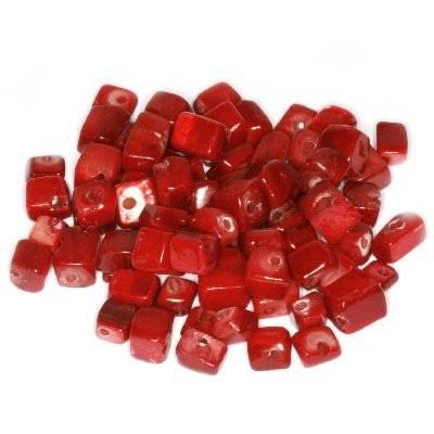 masa perłowa kamyczki czerwone