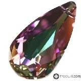 Swarovski teardrop pendants crystal vitrail light 24 x 12 mm