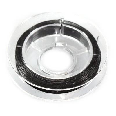linka stalowa czarna 0.45 mm