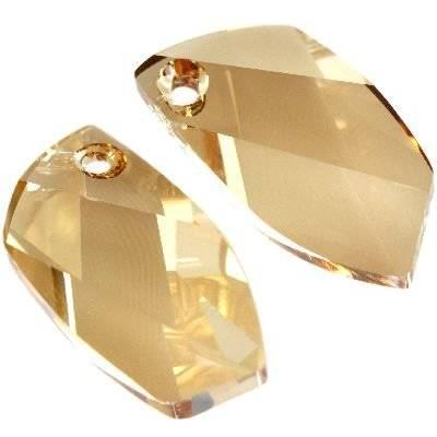 Swarovski avant-garde pendants crystal golden shadow 20 mm