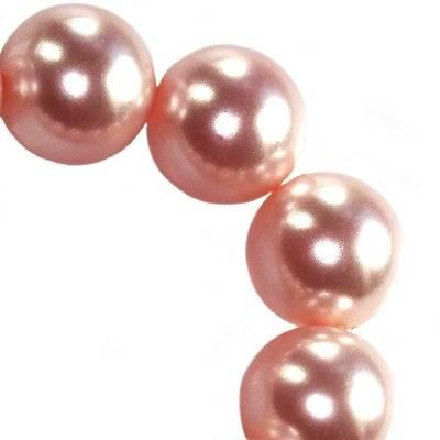 Swarovski crystal rose peach pearl 6 mm