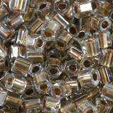 Toho beads hex gold-lined crystal 2 mm TH-11-989