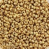 koraliki Miyuki 11/0 24kt gold light plated #11-193