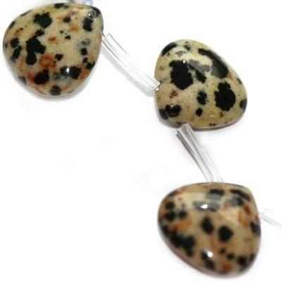 łezki jaspis dalmatyńczyk 15 mm kamień naturalny