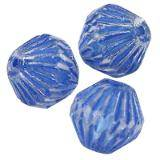 bicones blue  11 x 11 mm