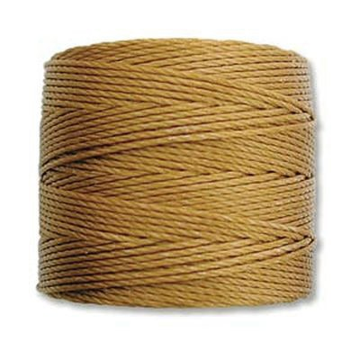 nici S-LON Tex 210 0.5 mm gold - nić do beadingu