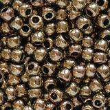 Toho beads round antique bronze 2.2 mm TR-11-223