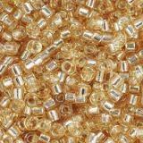 Miyuki Delica silver lined gold 1.6 x 1.3 mm DB-42
