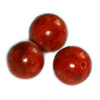 bolas coral 6 mm