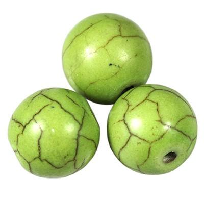 turkus zielony 8 mm kamień jubilerski