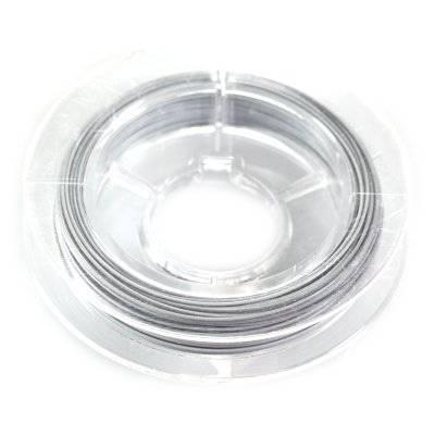 linka stalowa biała 0.45 mm
