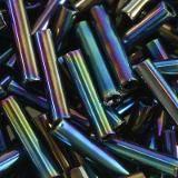perline Toho bugle metallic rainbow iris 9 mm TB-03-86