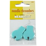 Needle threader w/cutter 2 pieces per card