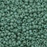 Miyuki kralen round 11/0 opaque matte luster sea foam #11-2028