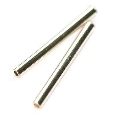 argent 925 tube rectilinge 15 mm