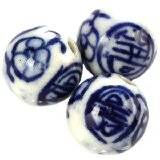 boules en porcelaine traditionnelles 14 mm