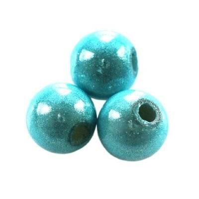 perles miracles azurées 6 mm