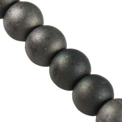koraliki Lunar hematyt 4 mm