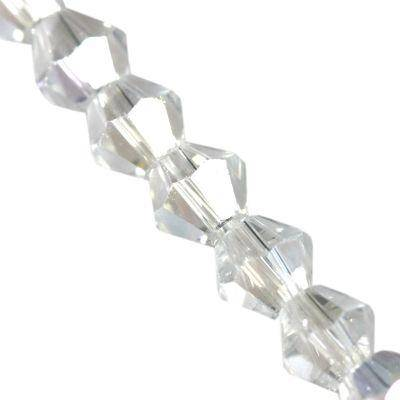 cristalli CrystaLine bicones clear AB 4 mm
