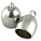 bell endings 8 x 14.2 mm surgical stainless steel 316