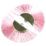 tassels metal clamp pink 4.5 cm