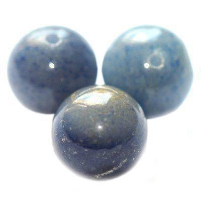 awenturyn niebieski 8 mm kamień półszlachetny naturalny